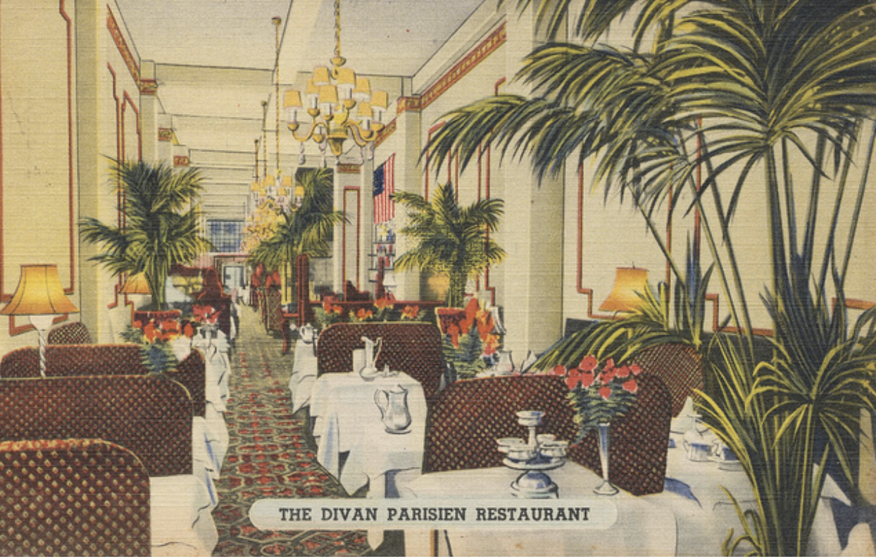 The Divan Parisien Restaurant New York City