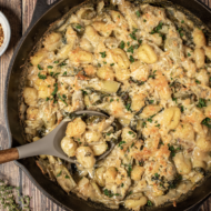 Oven Baked Gnocchi