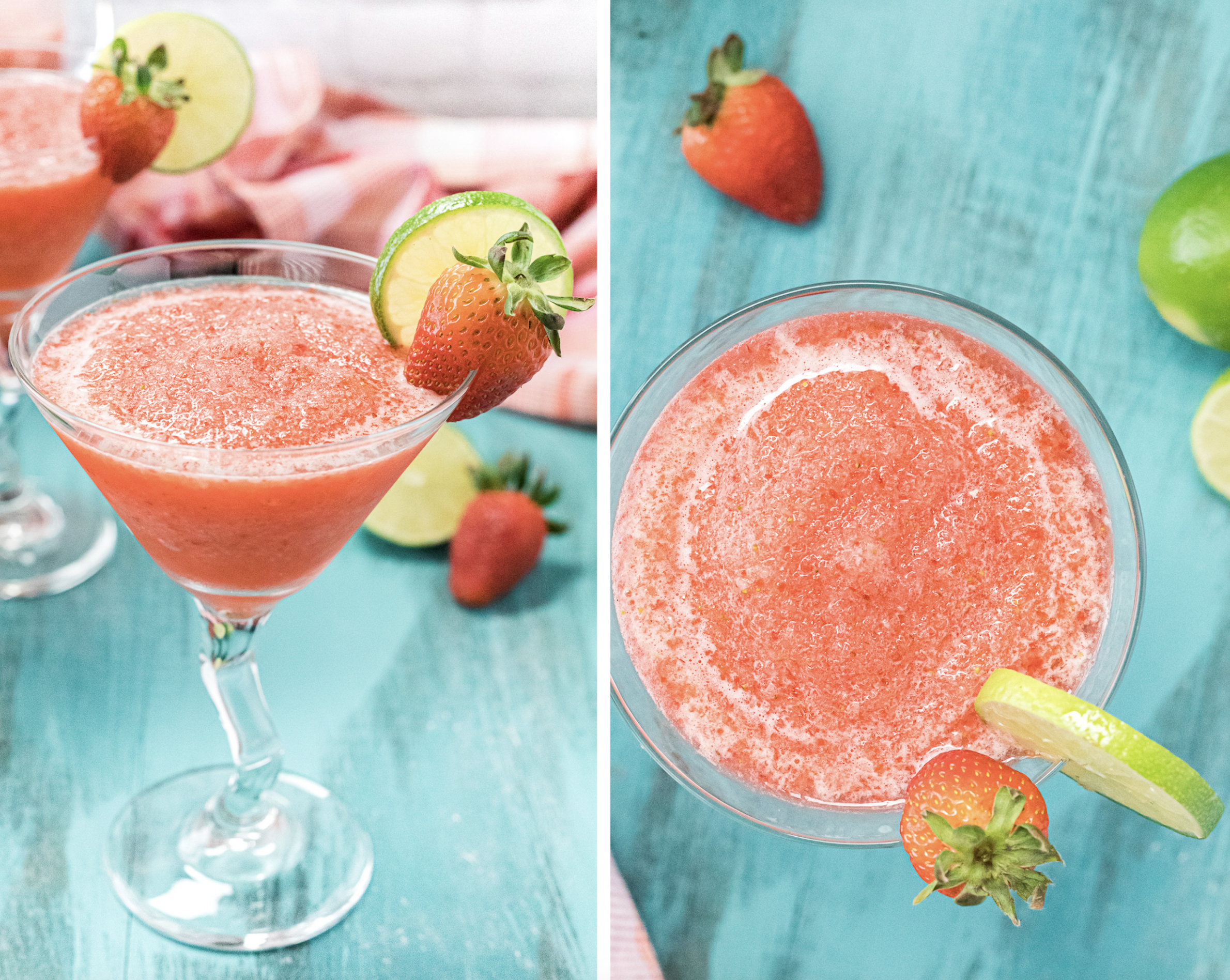 how to make easy frozen strawberry daiquiri