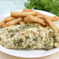 Baked Ranch Chicken Recipe with Green Giant® Veggie Fries®