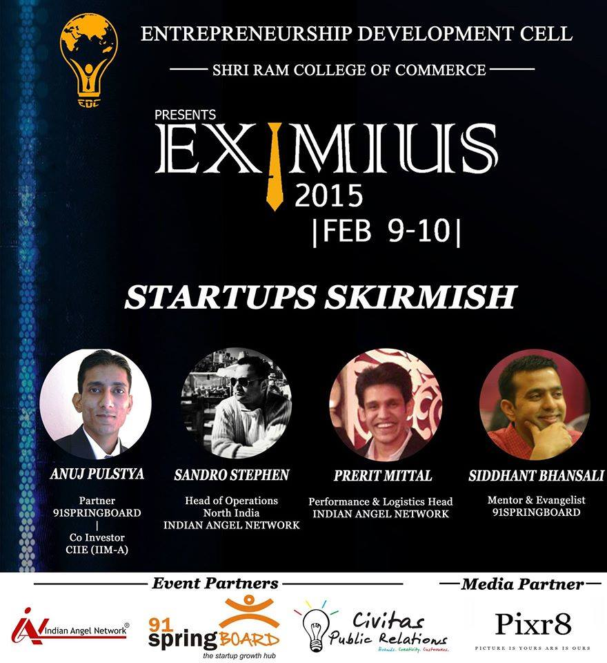 Eximus - SRCC Startup Event