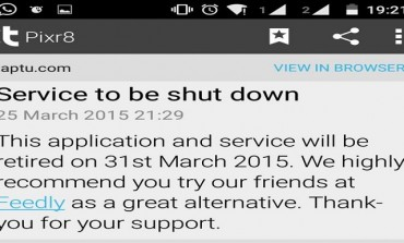 Dead end for Taptu on 31 March??