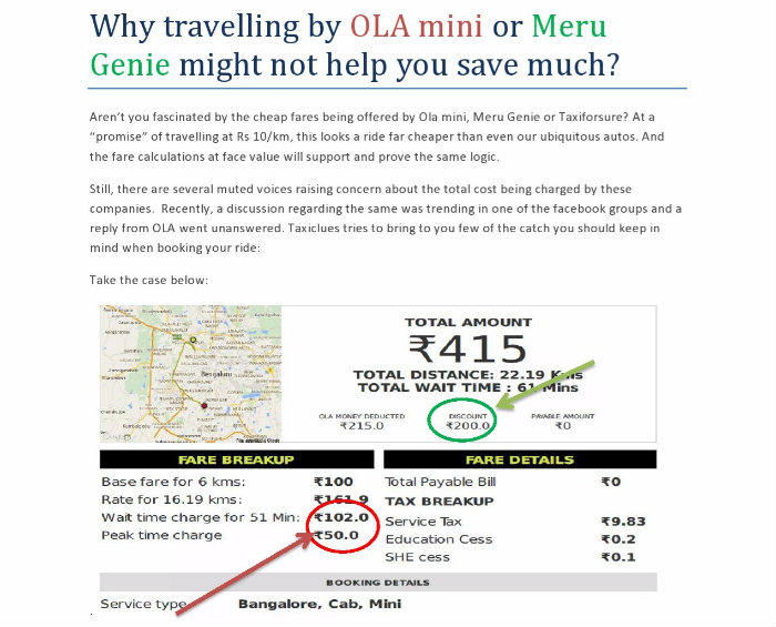 travelling by Ola mini - meru genie - cost more-page0001