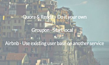 How online startups like Quora, reddit and Airbnb acquire their first users