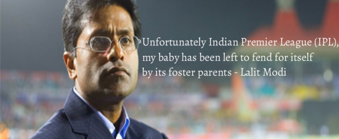Innovation the need of the hour for IPL – Lalit modi former IPL Chief