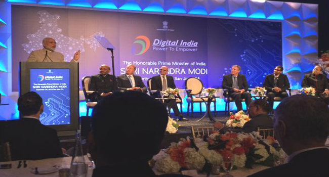 PM at Digital India Event