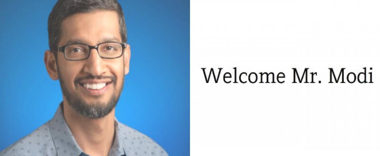 Google CEO Pichai backs 'Digital India' initiative