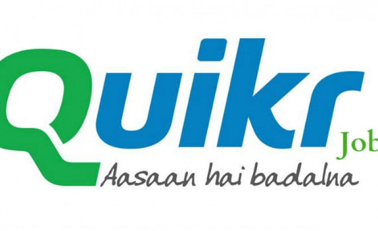 Quikr launched QuikrJobs for country's job seekers