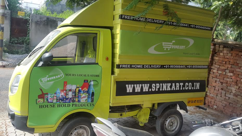 Spinkart has own delivery vehicle