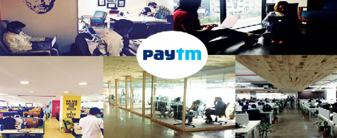 PayTM Office , battle station of one of India's biggest e-commerce company!