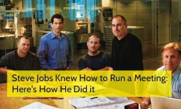 Steve Jobs Knew How to Run a Meeting: Here's How He Did it