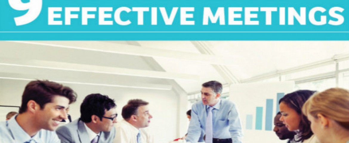 Tired of Useless Meetings? 9 Ways to Make Them More Effective. (Infographic)