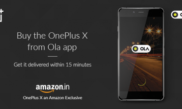First-Of-Its-Kind Partnership In India - Buy Smartphone OnePlus X, Straight From The Ola App