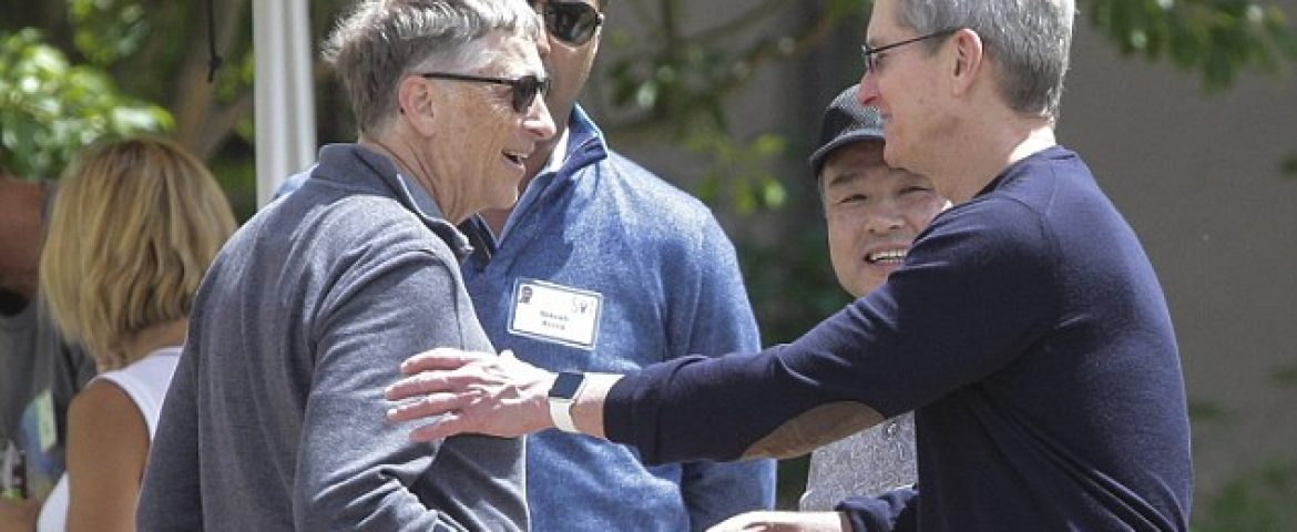 Apple Should Unlock San Bernardino iPhone: Bill Gates