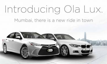 Now Book Ride in Jaguar at Rs 19/km Using Ola Lux