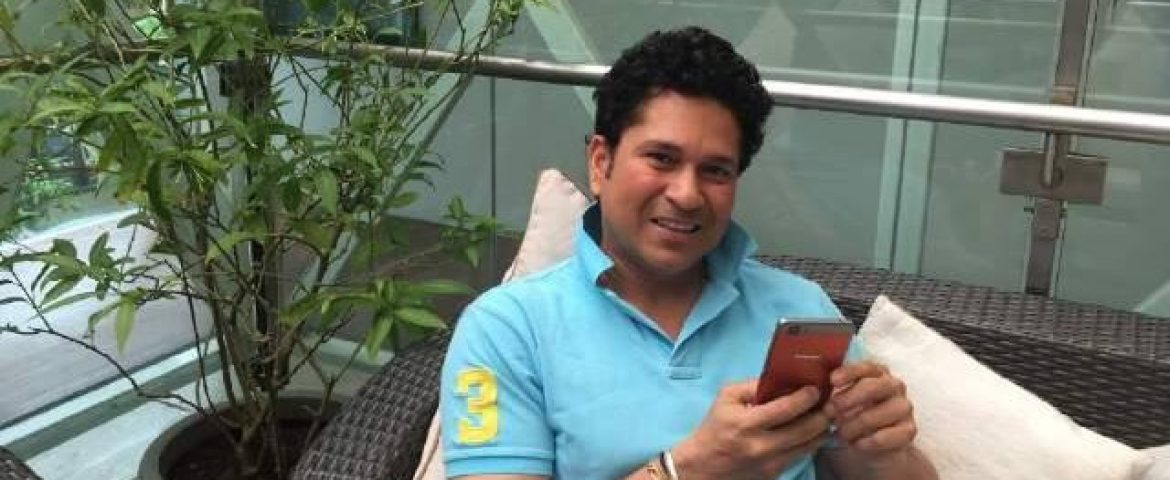Sachin Starts Digital Innings; Launched His App