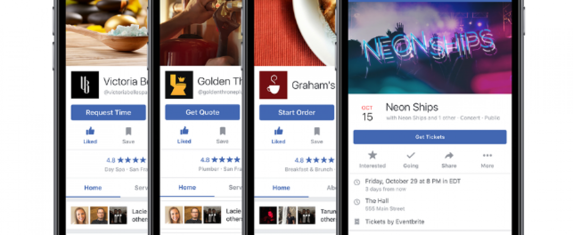 Now You Can Order Food Through Facebook