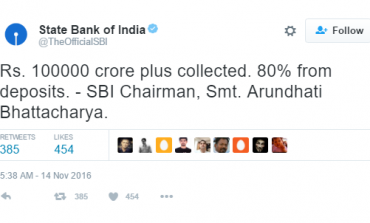 Demonetisation Effect: SBI Collects Rs 1,14,139 Cr Deposits in Last 7 Days