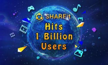SHAREit's Global Users Surpass One Billion