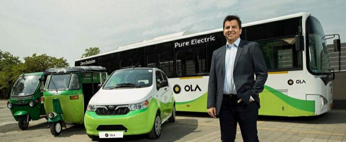 Ola raises 292 Crore For its Electric Segment