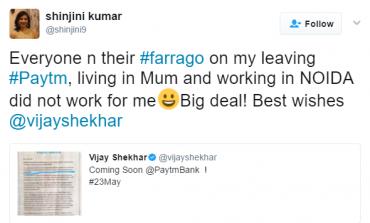 Paytm Appoints Renu Satti as a CEO of Paytm Bank, Shinjini Kumar Quits