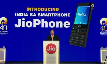 Mukesh Ambani Launches Free Jio Phone At Reliance AGM
