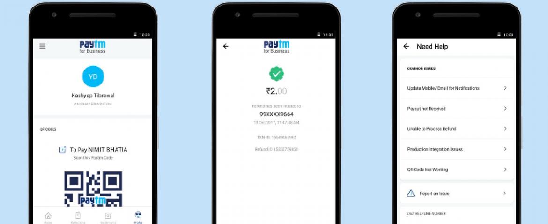 Paytm Launch Business App For Merchants