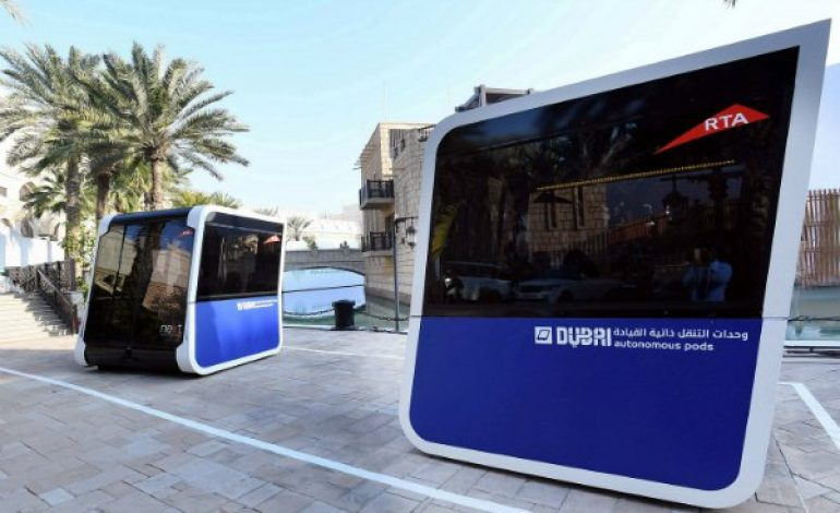 World's First Automatic Transportation Pods Tested In Dubai