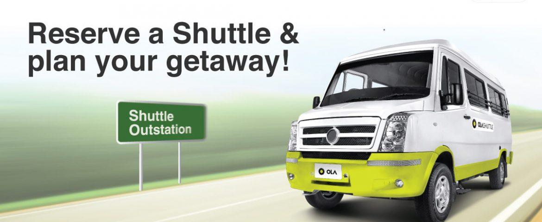 Ola Shutting Down its Bus Unit 'Shuttle'