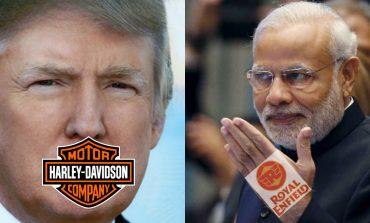 Trump's Harley Davidson Vs Modi's Royal Enfield- The Beginning of Motorcycle War