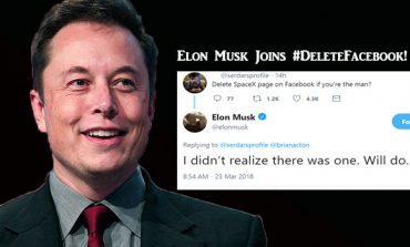 Elon Musk Deletes Facebook Pages of Tesla and SpaceX