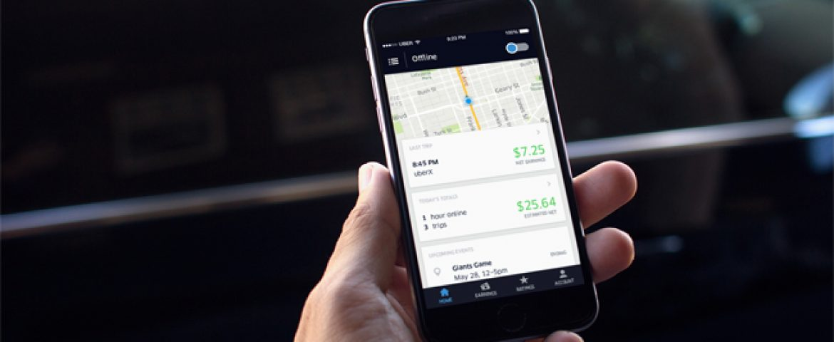Uber Developed New App For Its Drivers