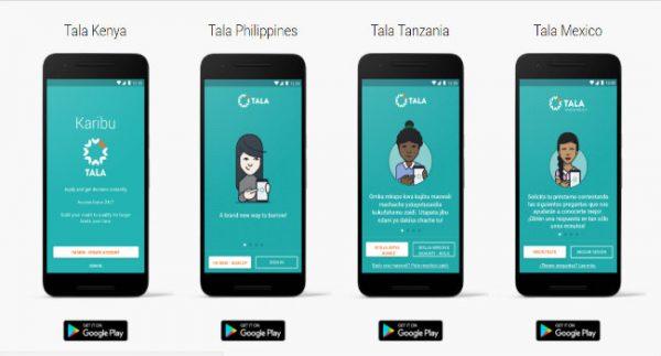 Tala Mobile Lending App