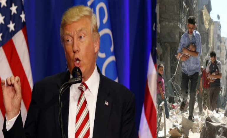 """Trump says """"Major Decisions"""" on Syria Likely in 24-48 Hours"""