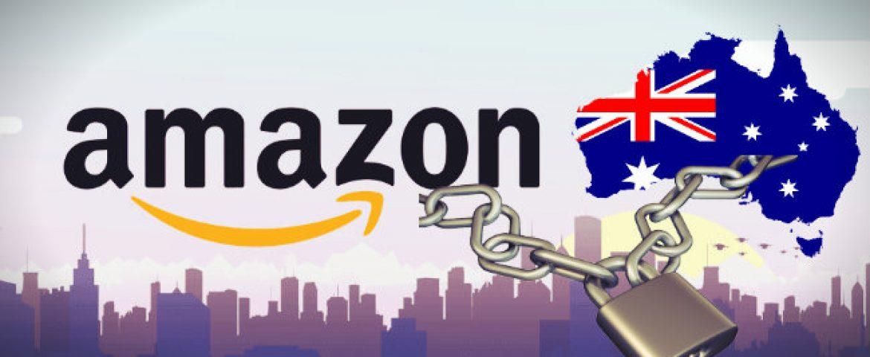Amazon Blocks its US Website for Australian Shoppers over GST
