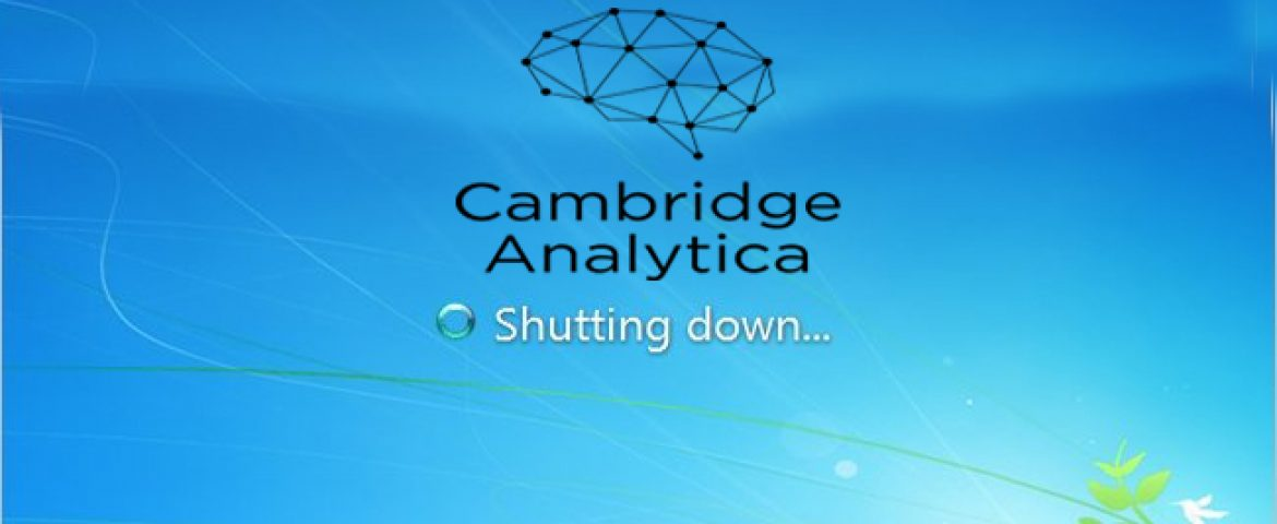 Facebook Data Scandal Firm Cambridge Analytica is Shutting Down