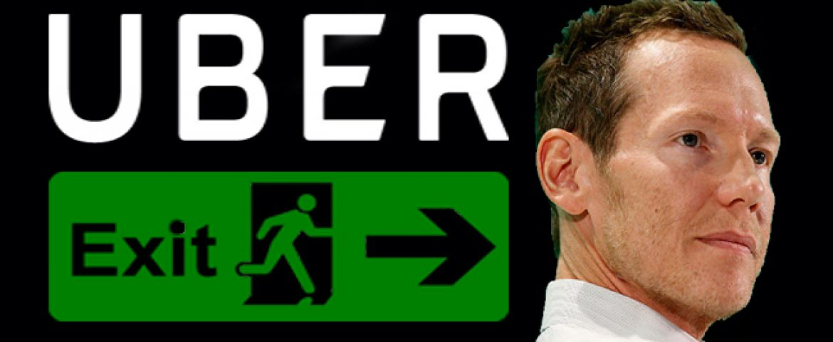 Another Top Uber Executive Leaves the Company