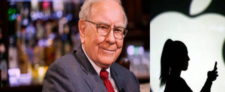Apple Shares Reach Record High after Warren Buffet Buys 75Mn Shares
