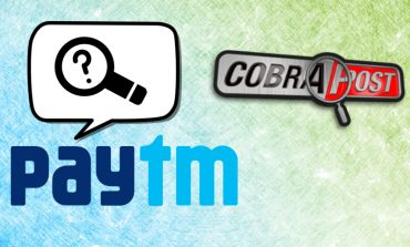 Cobrapost Sting Accuses Paytm for Sharing Data with PMO
