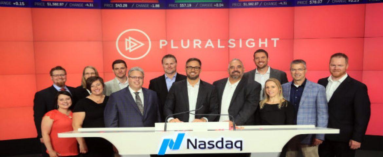 Online Education Company Pluralsight Marks a Debut on Nasdaq