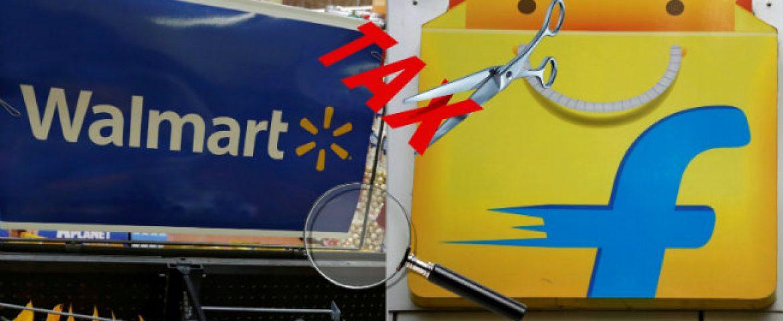 Income Tax Department Begins Flipkart-Walmart Deal Audit