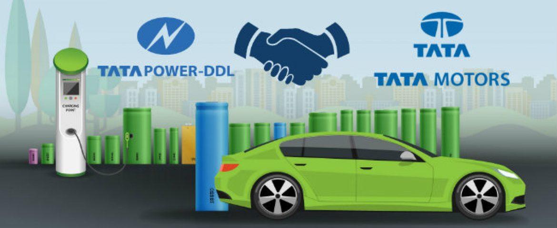 Tata Power Pacts with Tata Motors to Make Maharshtra EV Ready
