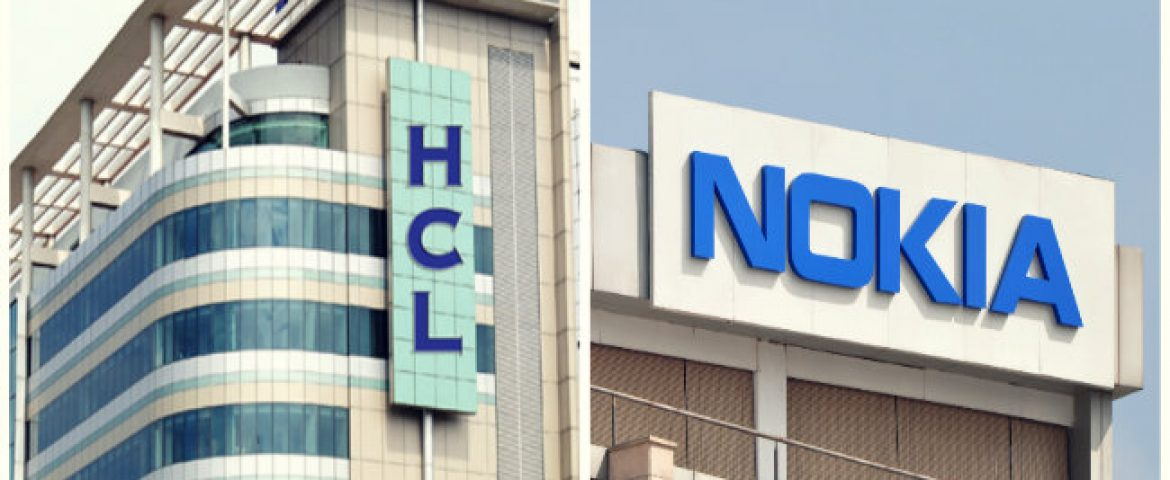 HCL Tech inks a five year IT Infrastructure Deal with Nokia