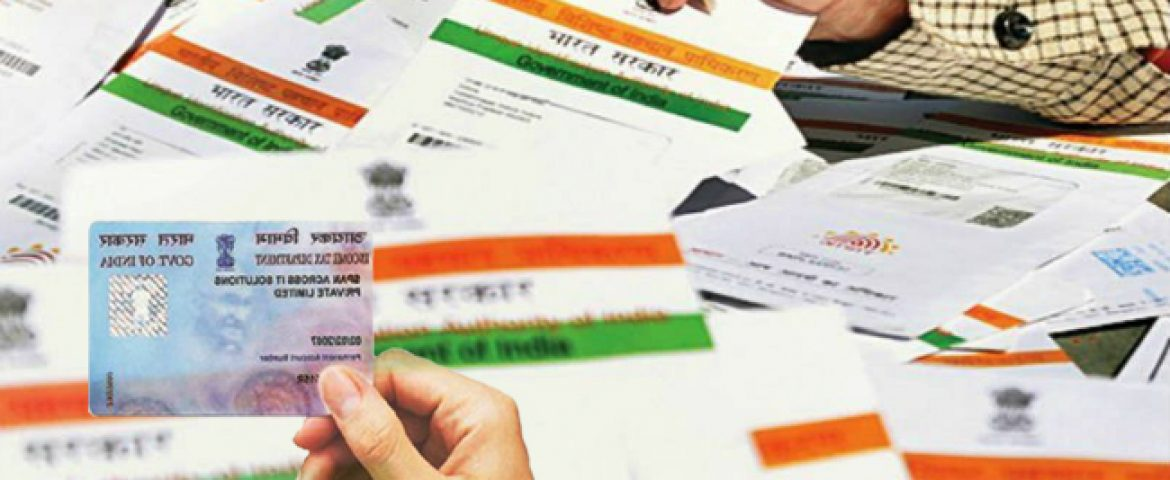 Tax Dept Launches Prompt e-PAN on The Basis of Aadhaar