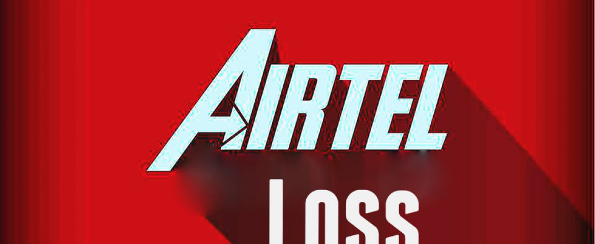 Airtel Reported First Ever Loss in Indian Telecom Sector