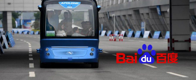 China's Baidu To Launch Autonomous Bus Service Apolong