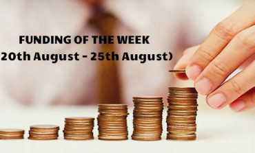 Top 5 Funding of The Week (20th August - 25th August)