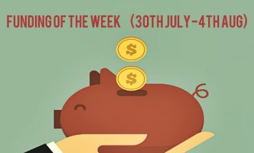 Top 5 Funding of The Week (30th July - 4th August)