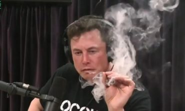 Tesla Stock Drops After Elon Musk Smokes Weed on a Talk Show