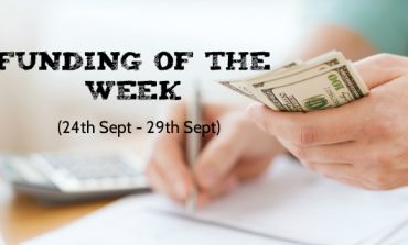 Top 5 Funding of The Week (24th Sept - 29th Sept)
